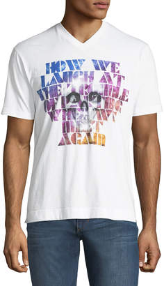 Robert Graham How We Laugh Short Sleeve Graphic Tee