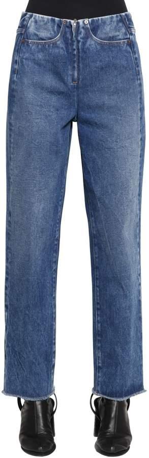Jeans Aus Baumwolldenim Mit Zip
