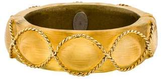 Alexis Bittar Lucite Hinged Bangle