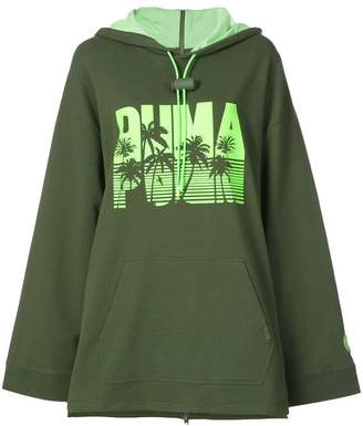 FENTY PUMA by Rihanna full back zip long sleeve hoodie