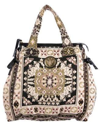 Gucci Tapestry Large Hysteria Tote