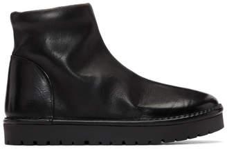 Marsèll Black Gomme Sanscrispa Alta Boots