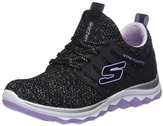 Skechers Girls Diamond Runner-Sparkle Sprint Trainers