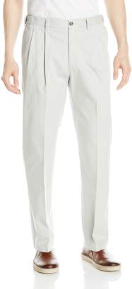 Savane Men's Pleated Ultimate Performance Chino