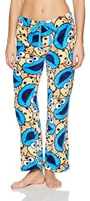 Sesame Street Women's Cookie Monster Minky Pant