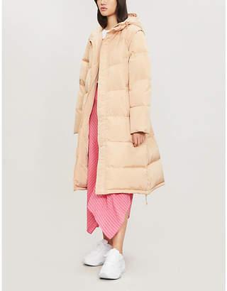 Ganni Whitman shell-down coat