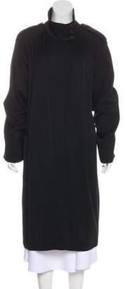 Ann Demeulemeester Wool Long Coat