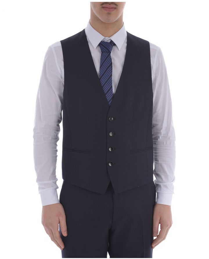Hugo Boss Hugo Boss Wool Vest