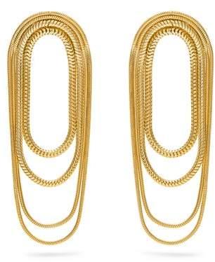 Fernando Jorge Parallel Gold Earrings - Womens - Gold