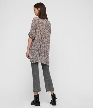 AllSaints Ida Midgard Shirt
