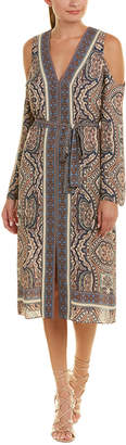 BCBGMAXAZRIA Cindi Midi Dress