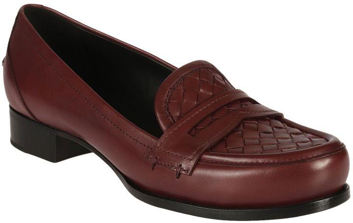 Bottega VenetaBottega Veneta Cites Crocodile-trimmed Loafers