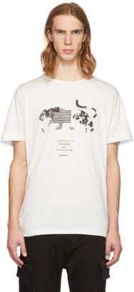 Diet Butcher Slim Skin White Panther Collage T-Shirt