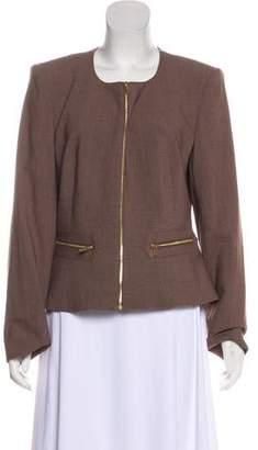 Calvin Klein Zip Front Blazer
