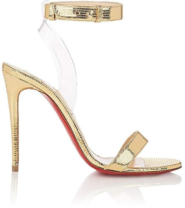 Christian Louboutin Women's Jonatina Leather & PVC Sandals