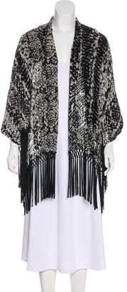 The Kooples Velvet Kimono Blouse