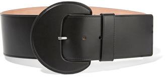 Michael Kors Collection - Leather Waist Belt - Black $490 thestylecure.com
