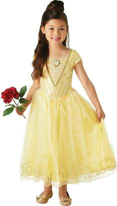 Disney Beauty And The Beast - Belle Dress Deluxe - Child Costume