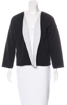 Marni Open Front Collarless Jacket