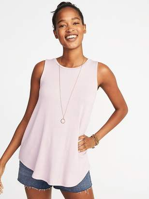 Old Navy Luxe Soft-Spun High-Neck Swing Tank for Women