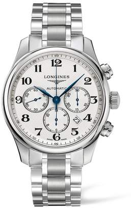 Longines Master Automatic Chronograph Bracelet Watch, 44mm