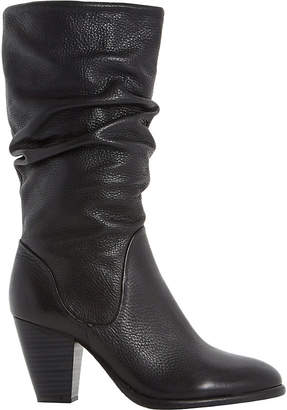 Dune Rossy leather calf boots