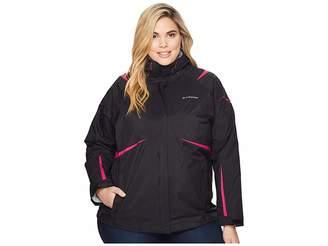 Columbia Plus Size Blazing Startm Interchange Jacket Women's Coat