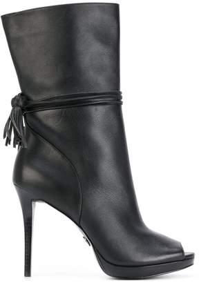 MICHAEL Michael Kors open toe platform boots