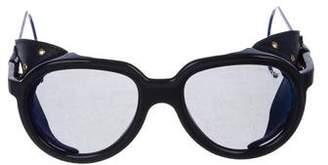 Moncler Tinted Aviator Sunglasses