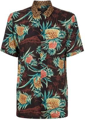 AllSaints Devoir Hawaiian Shirt