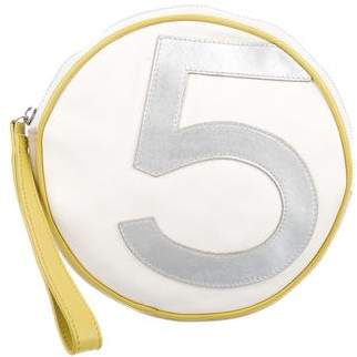 Chanel Colorblock Circle Pouch