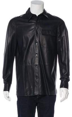 Ralph Lauren Purple Label Lambskin Lightweight Collared Jacket w/ Tags
