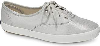 Keds Women's Champion Metallic Linen Sneaker