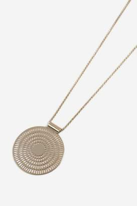 Topshop Womens **Mega Pendant Necklace