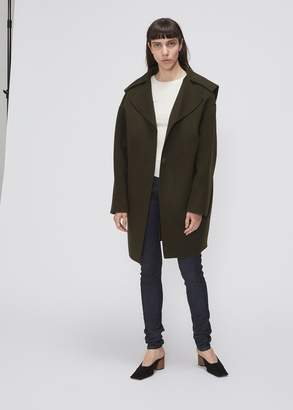 Low Classic Big Collar Coat