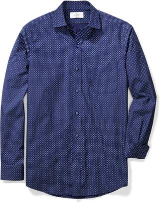 Buttoned Down Men's Classic Fit Spread-Collar Pattern Shirt