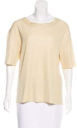 Marc Jacobs Knit Cashmere-Blend Top