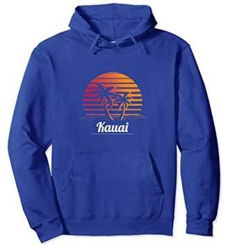 Kauai Retro Throwback 70s 80s Pullover Hoodie