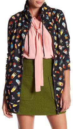Love Moschino Drawstring Zip Jacket
