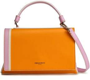 DKNY Color-block Leather Tote