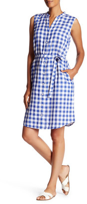 Tommy Bahama Grand Gingham Shirt Dress $118 thestylecure.com