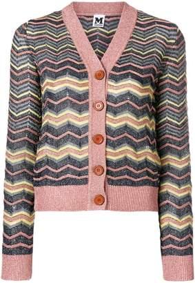 M Missoni zig-zag knits cardigan
