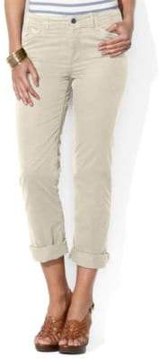 Lauren Ralph Lauren Rolled Hem Chino Pants