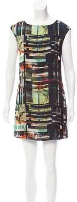 Ted Baker Sleeveless Printed Dress