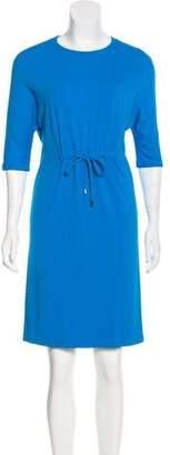 Michael Kors Short Sleeve Knee-Length Dress