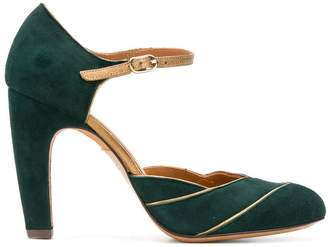 Chie Mihara pannelled pumps