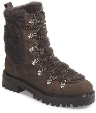 Sigerson Morrison Isla Genuine Shearling Lined Hiker Boot