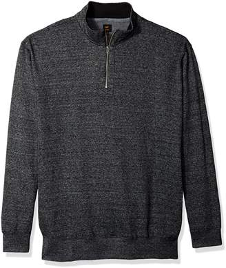 Lee Men's Mock Neck Quarter Zip Sweater