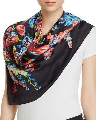 Echo Adelaide Floral Silk Square Scarf