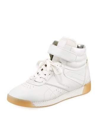 MICHAEL Michael Kors Addie High-Top Leather Sneaker
